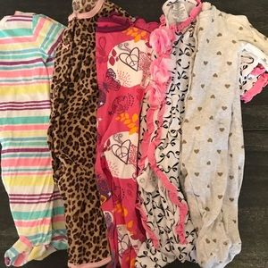 Footie Pajama 5 Piece Bundle